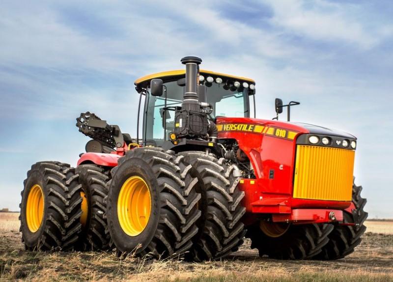 Versatile 610 4WD na bliźniakach
