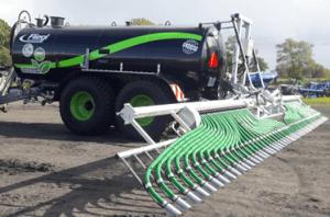 Technika rozprowadzania gnojowicy