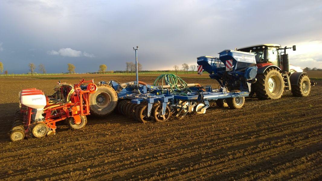 Wyjątkowy Köckerling Master do uprawy pasowej – technologia Strip Till #HT-15
